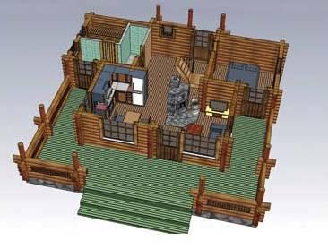 Desain Rumah Papan Modern