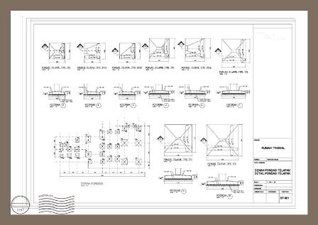 18 Bangun Rumah/Desain Rumah: Contoh Dari Gambar Arsitektur ke Gambar ...