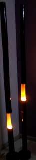 Membuat Sendiri Lampu Hias Eksotik, Lighting dari Bambu