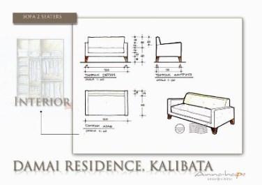 Tip 33 Tiga Komponen Interior Ruang Tamu Sofa Meja Dan Partisi Dari Sketsa Ke Gambar Perspektif 3 Dimensi Annahape Studio Desain Rumah Desain Interior Arsitektur Rumah