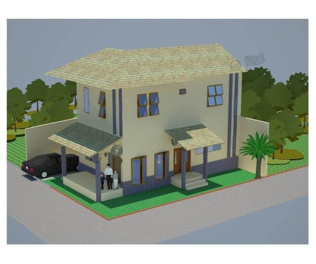 Tip 36 Gambar Rumah Villa Cottage Dari Satu Layout Menjadi Empat