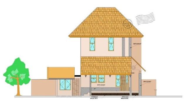 tip 36 gambar rumah villa cottage dari satu layout