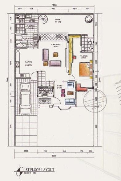 Contoh Denah Rumah Kantor  tentang artikel kumpulan artikel artikel indonesia desain