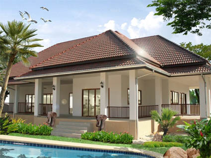 Home Design on Amaging Plus Pool Indonesia Home Design