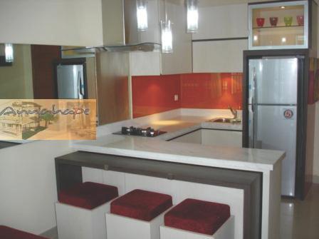 Tip 66 kumpulan desain kitchen set terbaru satu desain for Biaya kitchen set per meter