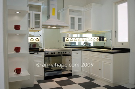 Annahape Kitchen Set Klasik Modern Annahape Studio Desain Rumah