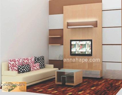 Desain ruang keluarga apartemen rumah kecil annahape for Desain apartemen studio 21m