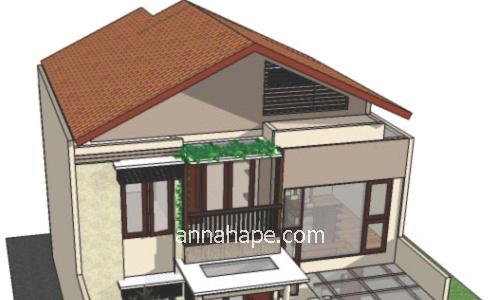 inspirasi desain atap rumah agar fasad tampil beda