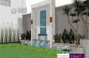 Desain Belakang Rumah on Annahape Studio Desain Rumah  Desain Interior   Arsitektur Rumah
