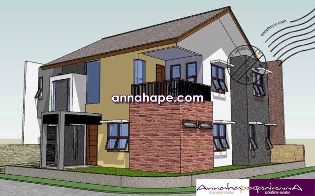 desain rumah sudut & Tip 93 Tiga Keuntungan Arsitektur Rumah Sudut (Hoek) | ANNAHAPE ...