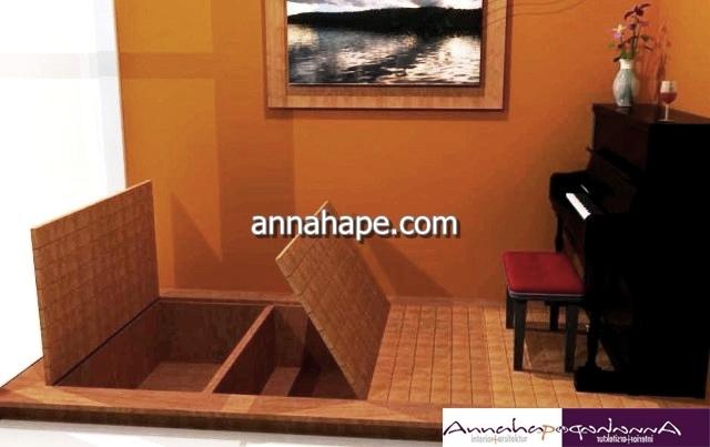 Piano Di Ruang Keluarga