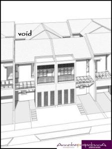Rumah tipe 6x15