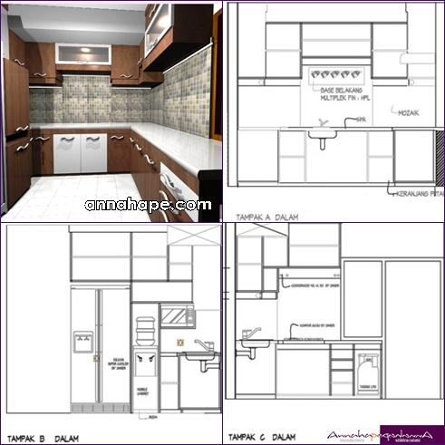 Gambar Desain Kamar Mandi Minimalis on Desain Interior Dapur Kecil Minimalist Ukuran 19x38 M Image Courtesy