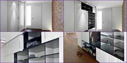 contoh desain lemarin built-in untuk storage
