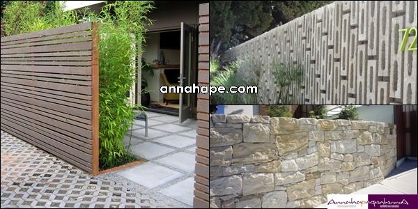 tip 99 desain pagar yang serasi dengan rumah minimalis