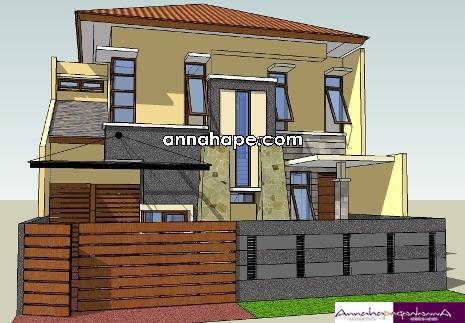 tips desain pagar yang serasi dengan rumah minimalis