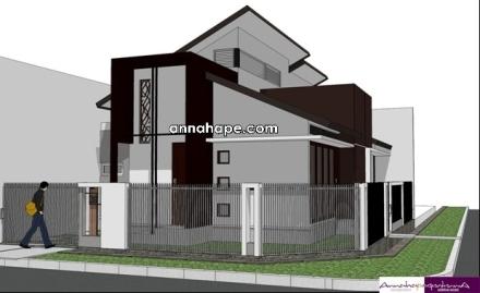 gambar rumah satu lantai dengan plafon tinggi-03