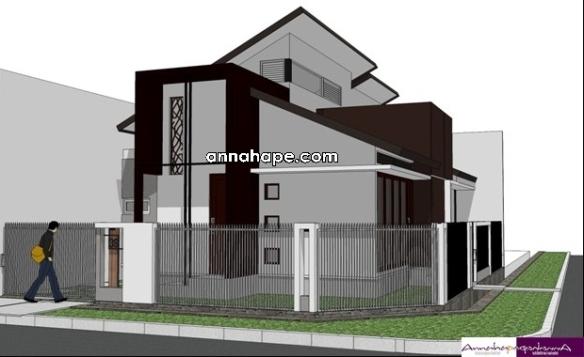 Rumah Modern Annahape Studio Desain Rumah Desain Interior Arsitektur Rumah